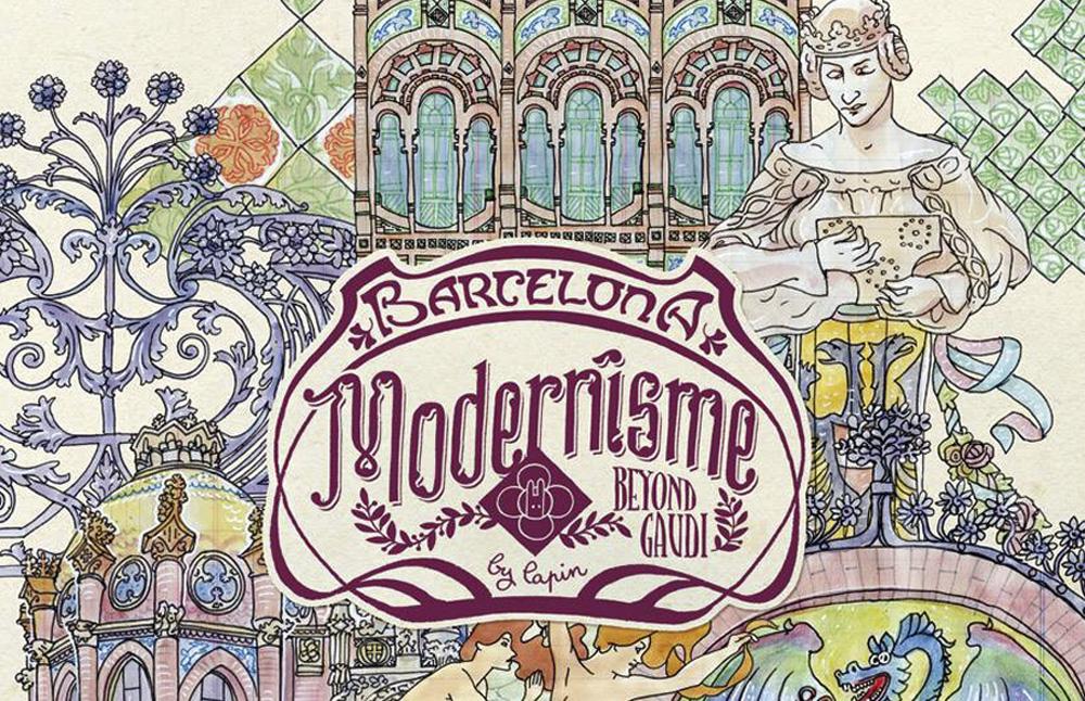 """Presentación libro Lapin: """"Modernisme beyond Gaudí"""""""