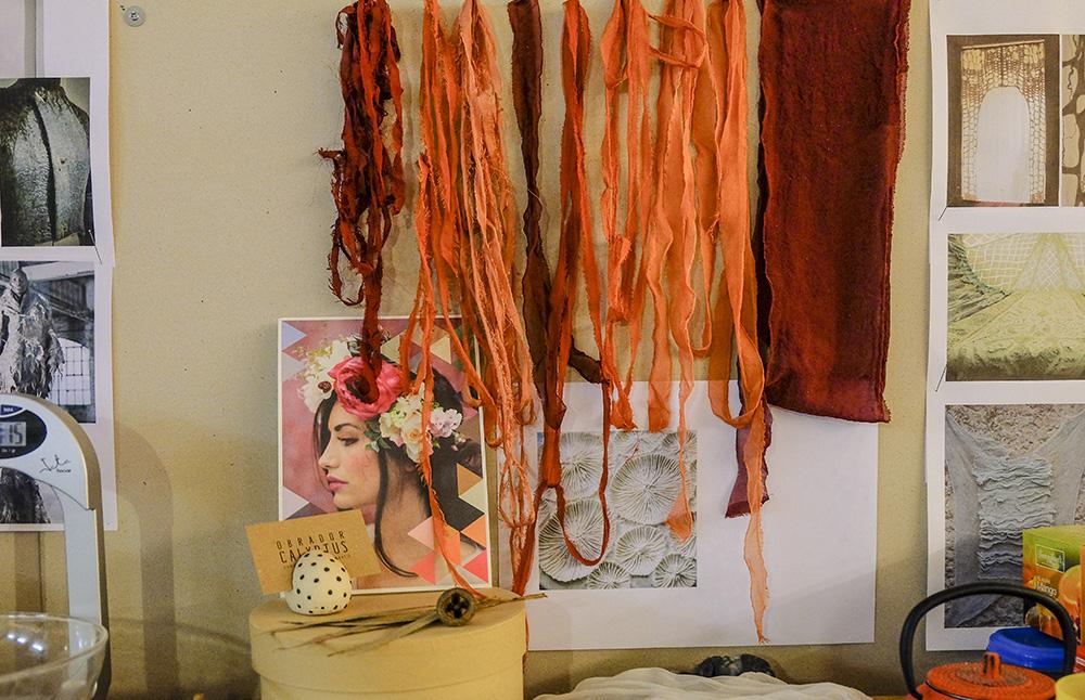 Obrador Calyptus, fibras naturales, investigación y sensibilidad