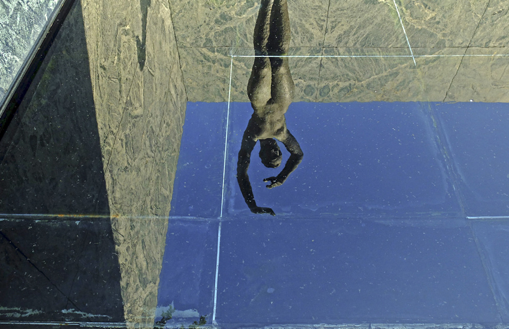 Pabellón de Mies, icono del movimiento Moderno.